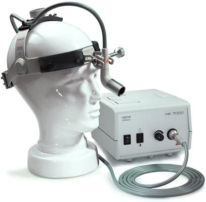Фиброоптический налобный осветитель холодного света Heine MD 1000
