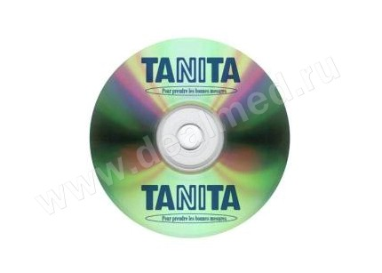 CD-диск с Программным Обеспечением Tanita GMON Software MED, Япония