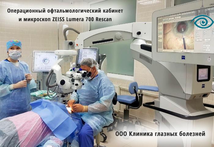 Санэпидрежим в офтальмологическом кабинете